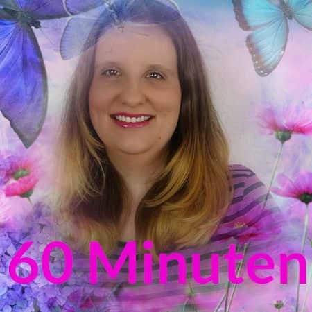 hellsichtiges Beratungsgespräch 60 Minuten Engelmedium Daniela mit schönen Schmetterlingen